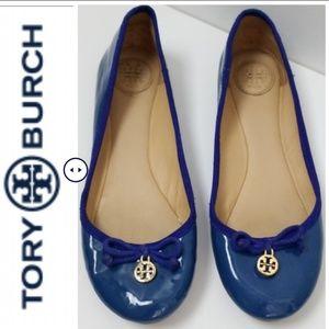 Tory Burch Ballet Flats Blue - Size 7